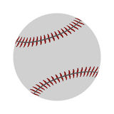 ball baseball sport competition icon Stock Image