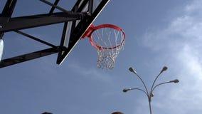 Ball Basketball Hoop stock video