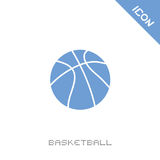 Ball of basketball icon Royalty Free Stock Images