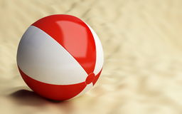 Ball beach Royalty Free Stock Photography