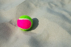 Ball at the Beach Royalty Free Stock Photos