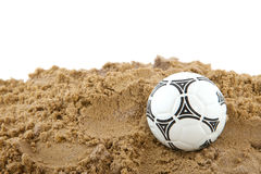 Ball at the beach Royalty Free Stock Photography