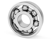 Ball Bearing. 3D computer illustration on white background Stock Photo