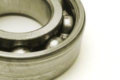 Ball bearing. Macro image of ball bearing on white background Royalty Free Stock Images