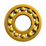 Ball bearing. 3d illustration of a roller bearing Stock Photos