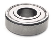 Ball bearing. Over white background Royalty Free Stock Images