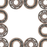Ball bearing. Isolated on white background Royalty Free Stock Images