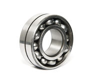 Ball bearing. Russian quality ball bearing  on white Royalty Free Stock Images