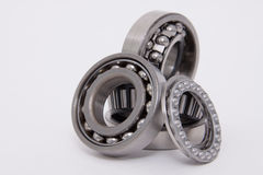 Ball bearing. Isolated on a white background Stock Photo