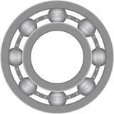Ball bearing. Machine parts of ball bearing drawing Stock Photos