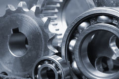 Ball-bearing with gears Stock Photo