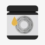 Ball bearing illustration Royalty Free Stock Photography
