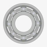 Ball bearing illustration Royalty Free Stock Image