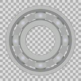 Ball bearing illustration Royalty Free Stock Images