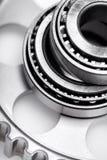 Ball Bearing. Industry Conveyor Belt Car Wheel Steel Technology Stock Photography