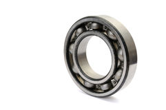 Ball bearing isolated Royalty Free Stock Image