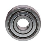 Ball bearing on a white background. Ball bearing isolated on a white background Royalty Free Stock Photography