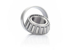 Ball bearing isolated on white background Royalty Free Stock Photos