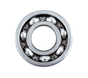 Ball Bearing isolated on white background Royalty Free Stock Image