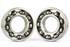Ball bearing. Isolated on a white background Stock Images