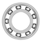 Ball Bearing isolated on a white background Royalty Free Stock Images
