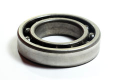 Ball bearing. Old ball bearing  on white Royalty Free Stock Photography