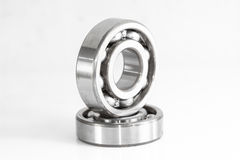 Ball bearing. On over white, and reflections Stock Photography