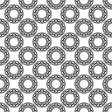 Ball bearing pattern Royalty Free Stock Image