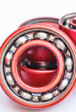 Ball bearing red Stock Images