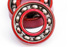 Ball bearing red Royalty Free Stock Image