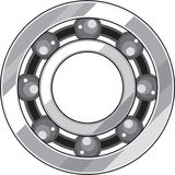 Ball bearing vector Royalty Free Stock Photo