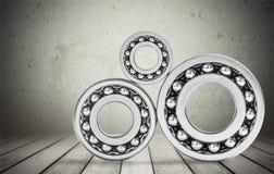 Ball Bearing. Wheel Accuracy Machine Part Material Metal Chrome Royalty Free Stock Photo