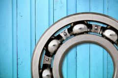 Ball Bearing. Wheel Car Macro Close-up Sphere Machine Part Royalty Free Stock Photos