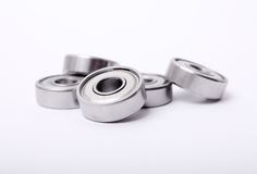 Ball bearing. On white background Stock Images