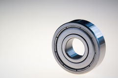 Ball bearing on white Stock Photography