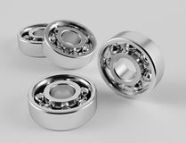 Ball bearings. 3D computer illustration with global illumination enabled Royalty Free Stock Image