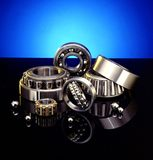 Ball bearings. High end industrial ball bearings royalty free stock photo