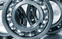 Ball bearings in close ups Stock Image