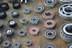 Ball bearings collection Royalty Free Stock Image