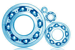 Ball bearings - industrial design Royalty Free Stock Photo