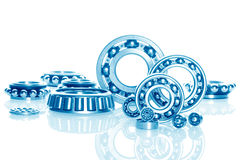 Ball bearings - industrial design Stock Photo