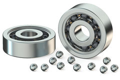 Ball bearings Stock Image