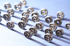 Ball Bearings Moving Royalty Free Stock Image