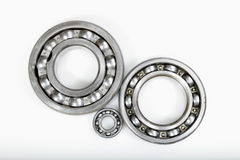Ball bearings and pinion wheels Royalty Free Stock Photos
