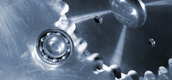 Ball bearings and pinions Stock Photography