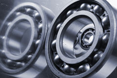 Ball-bearings still-life Stock Photos