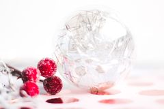 Ball, Berries, Blur Royalty Free Stock Images
