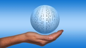 Ball, About, Binary Ball, Hand Stock Images