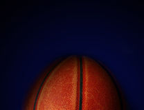 Ball on blue Royalty Free Stock Photography