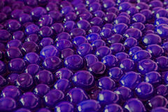 Ball. Blue background of balls, lovely cherry jam Stock Photo